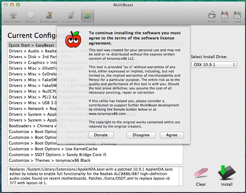 XF] 白蘋果黑蘋果傻傻分不清楚,教你如何完整安裝OS X 10 9 1