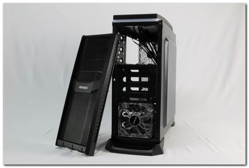 [XF]10度角的傾斜,親切的定價,Antec GX300 親民系遊戲玩家殼評測