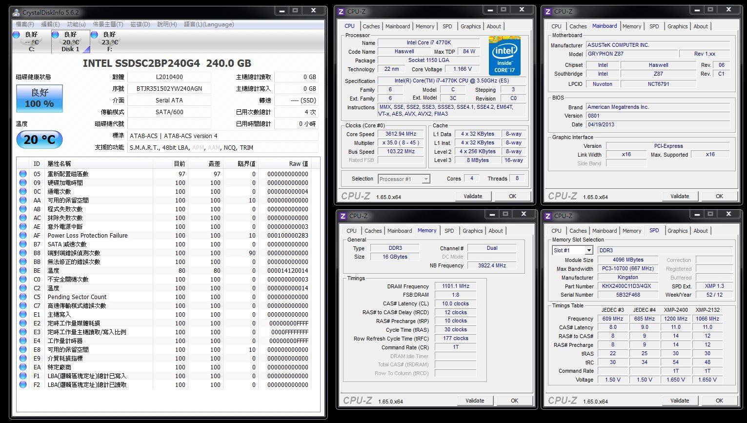 [XF] INTEL SSD 730 240GB測試報告 加映 RAID0 效能測試