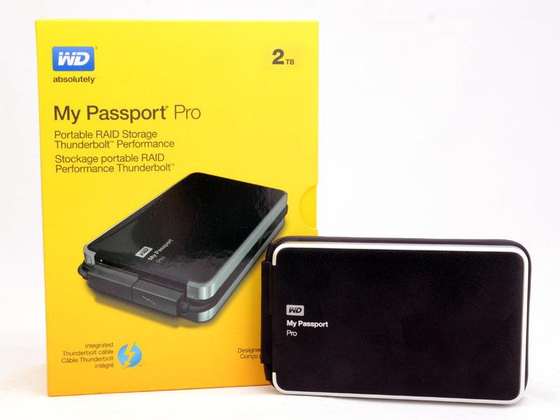 [XF]RAID+Thunderbolt打造高效能!WD My Passport Pro行動硬碟2T/4T巨量登場