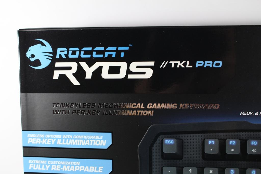 [XF] 電競鍵盤輕量化-ROCCAT RYOS TKL Pro機械式電競鍵盤評測