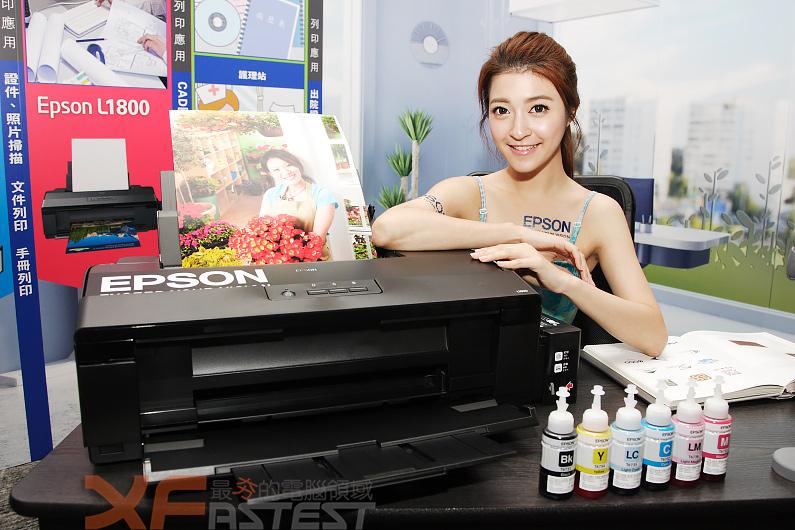 針對大尺寸大印量需求Epson推出二款A3連續供墨機種