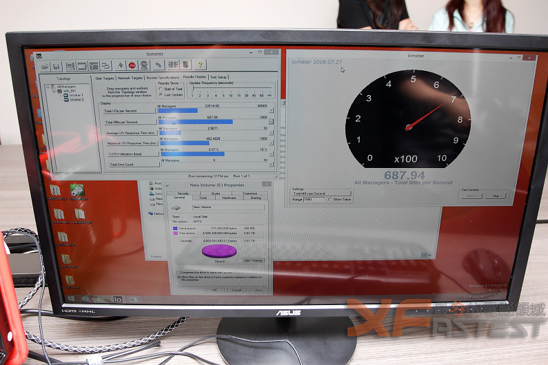 WD於Computex 2014展出採用SATA Express技術硬碟