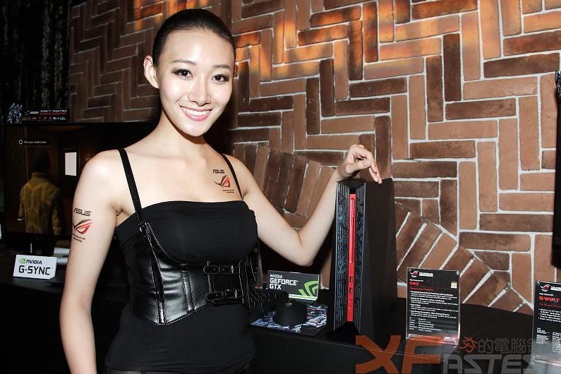 華碩ROG玩家共和國系統、主機板、顯示卡與滑鼠齊亮相