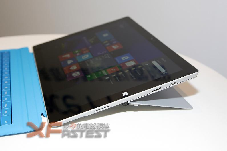 12吋的微軟Surface Pro 3即將於八月底正式在臺開賣