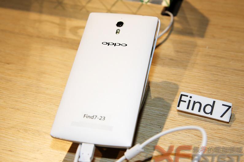 超高解析度的OPPO Find 7即將在臺上市