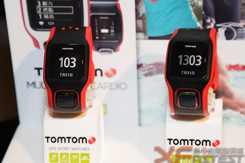 TomTom為運動愛好者推出整合心率計的GPS運動表