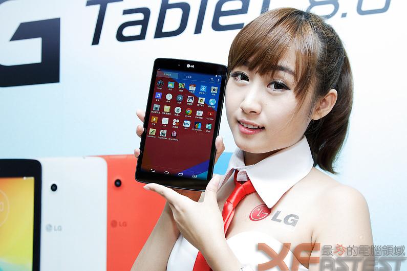 價位平實的LG G Tablet 8.0 4G LTE版正式上市