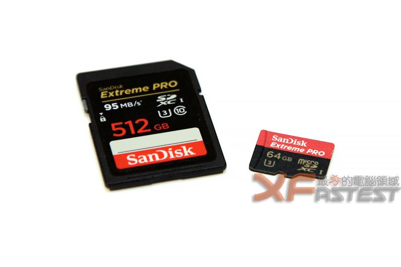 SanDisk推出高速最大容量的Extreme PRO SD與microSD記憶卡