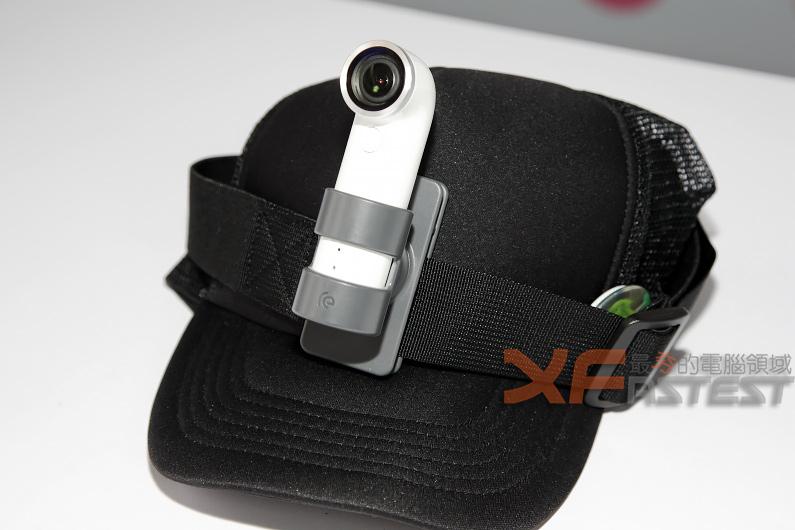 造型輕巧有趣的HTC RE迷你攝影機隨時開拍