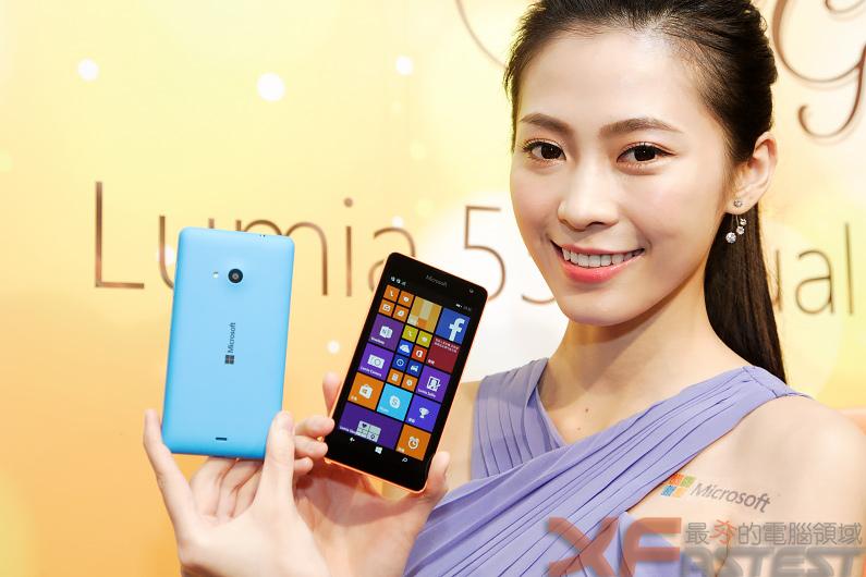 微軟推出不到4500元的五吋雙卡Lumia 535 Dual SIM