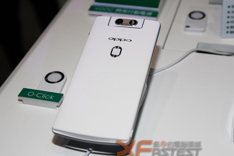 Oppo電動翻轉鏡頭N3與超薄R5在臺灣開賣