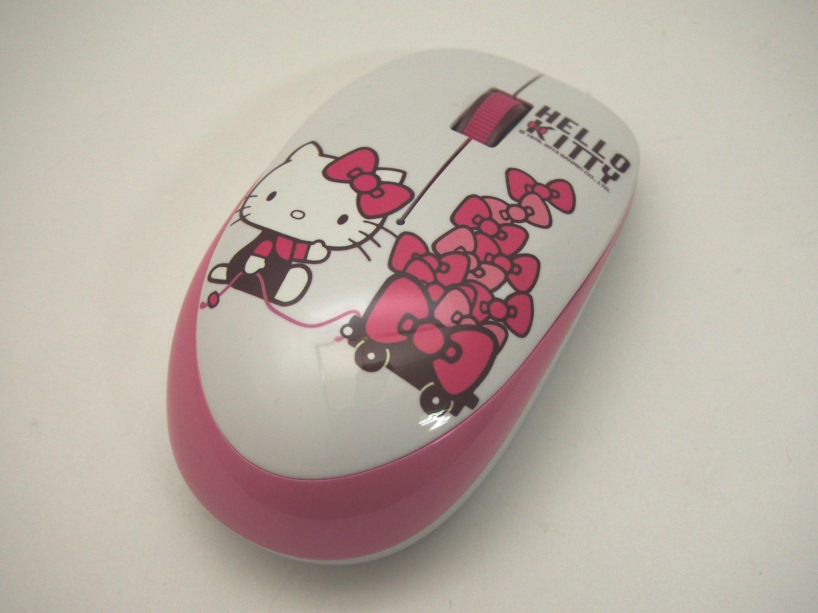 [XF] 喚起內心無限的可愛少女心 B.FRiEND Hello Kitty 無線鍵盤滑鼠組