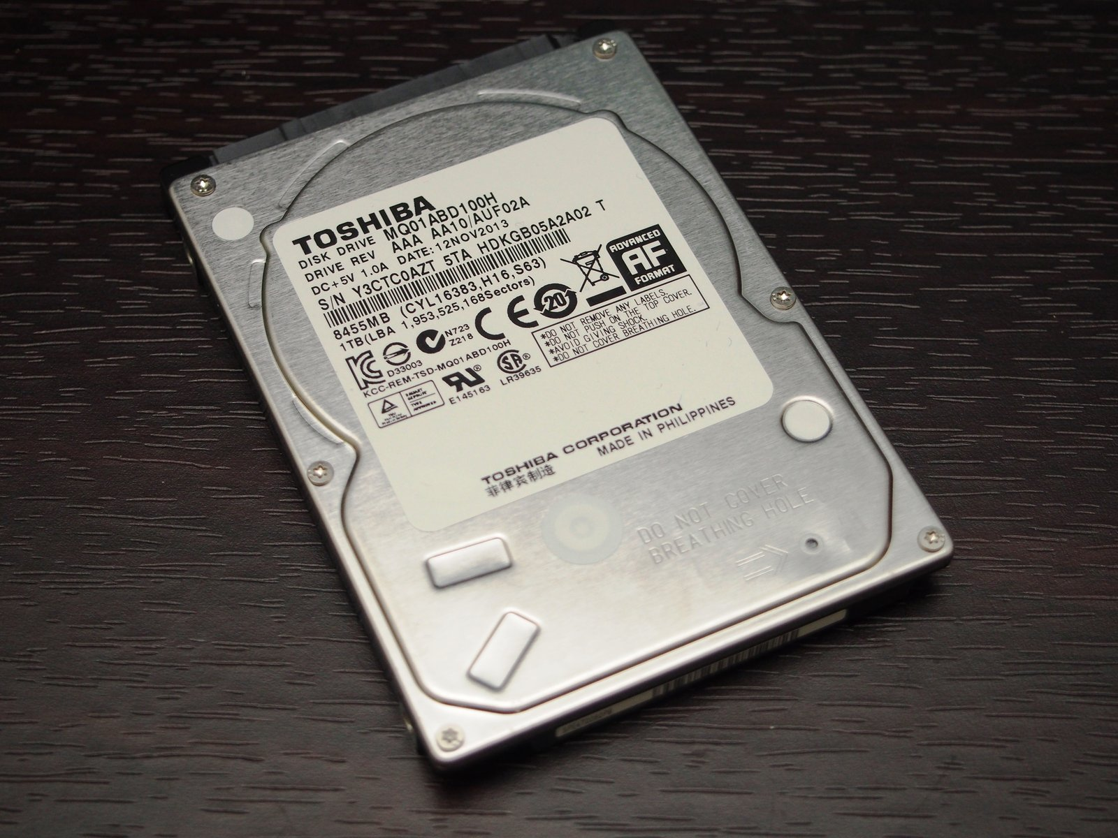 [XF] 2.5吋混合碟升級好選擇 Toshiba 1TB SSHD