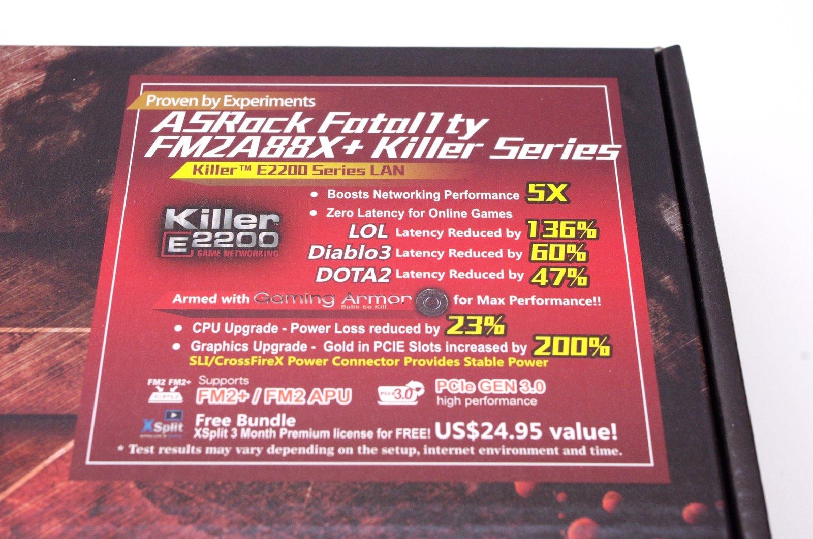 [XF] 誰說 APU 沒有電競殺手 ASRock Fatal1ty FM2A88X+ Killer