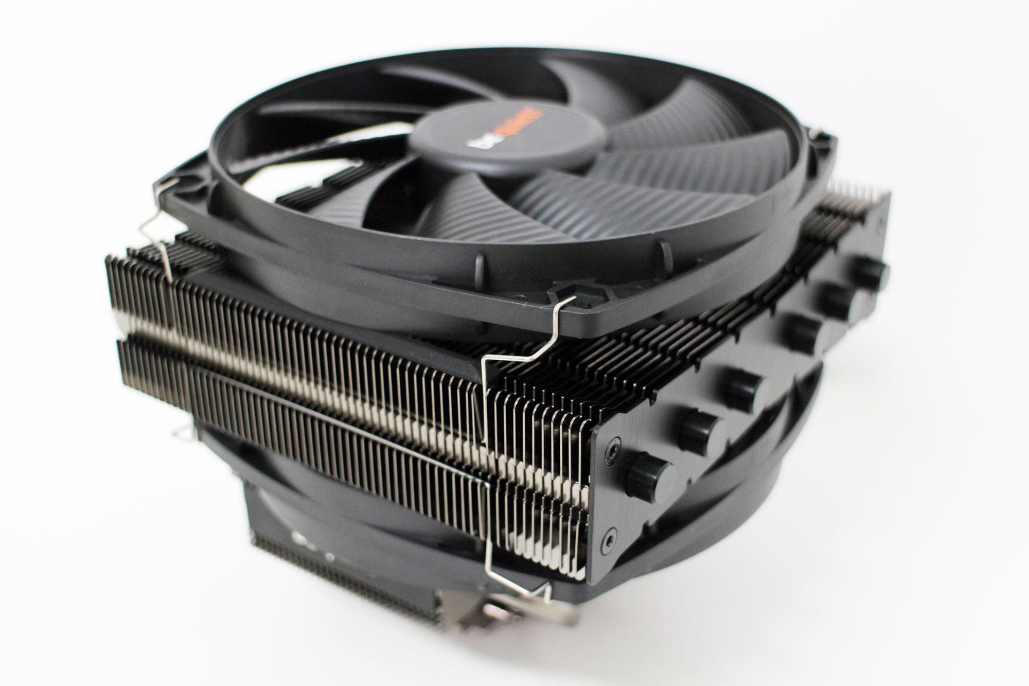 be quiet!於2015 CES展出兩款下吹式CPU散熱器