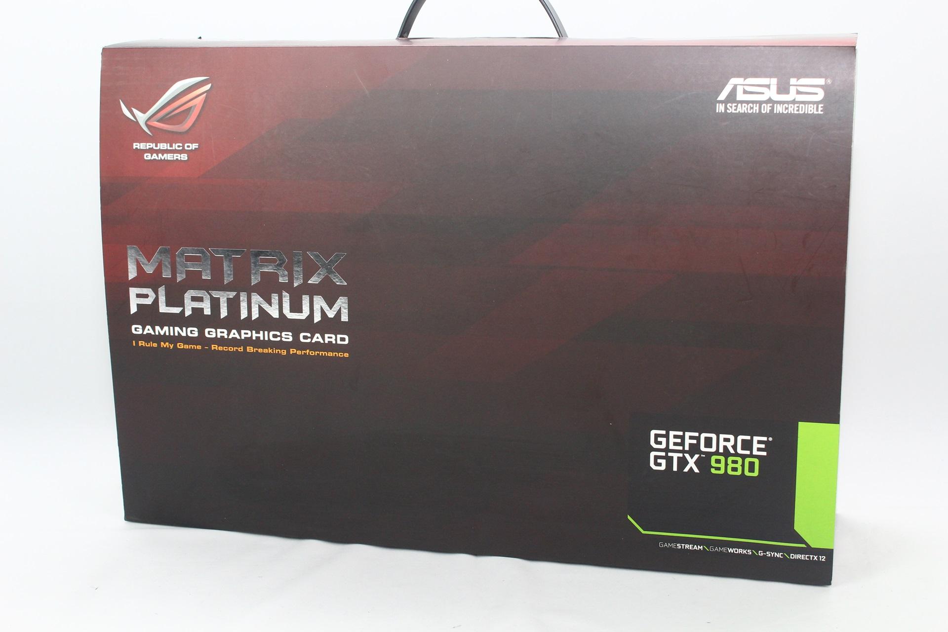 玩家共和國來襲,ASUS ROG Matrix Platinum GTX 980 4GB GDDR5顯示卡測試