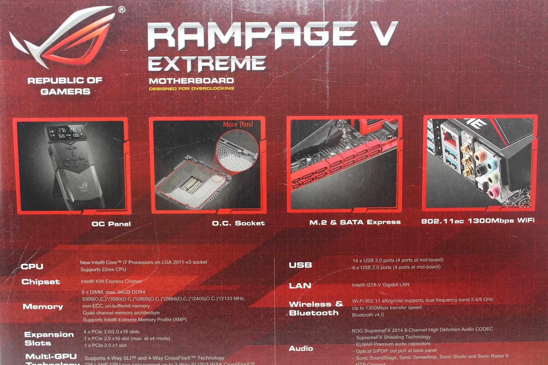 rampage v extreme