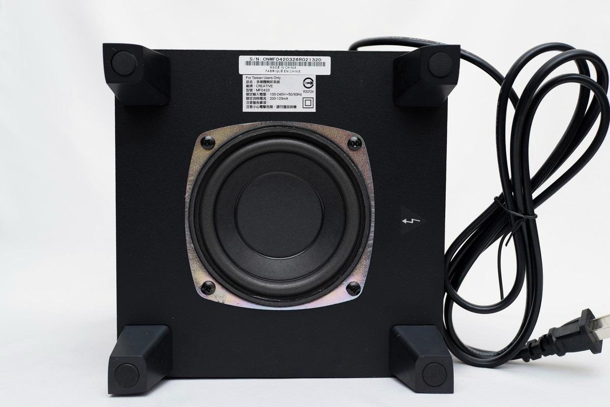 [XF] 緊緻外型 享受個人音樂饗宴 CREATIVE SBS A250 2.1聲道喇叭評測