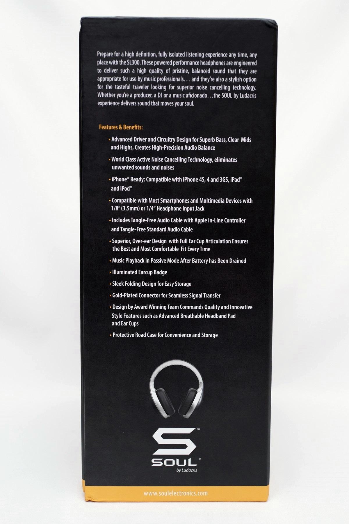 [XF] 主動降噪耳罩式耳機 SOUL SL300WB 開箱