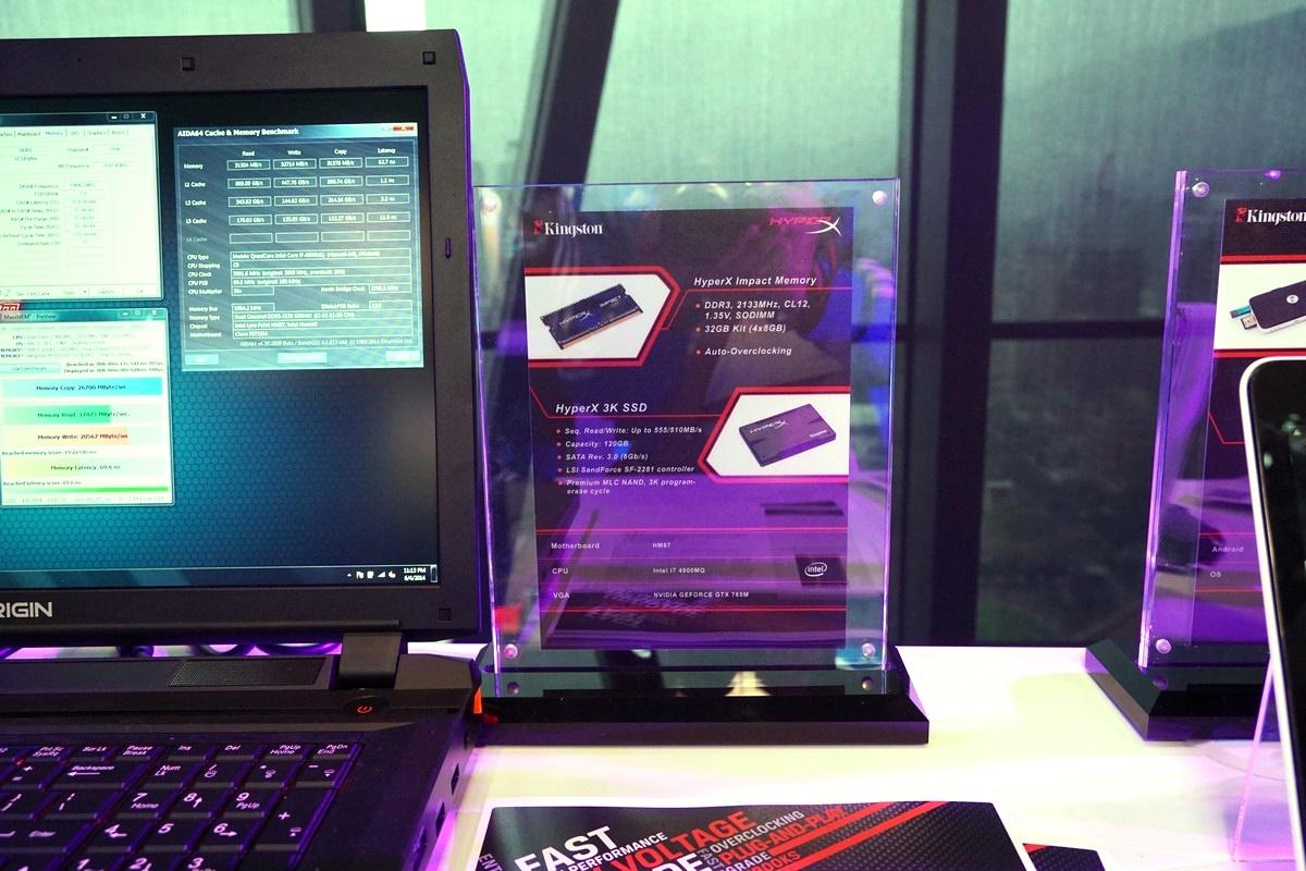 [XF] Kingston Computex 2014 光速戰艦新品上市活動發表會