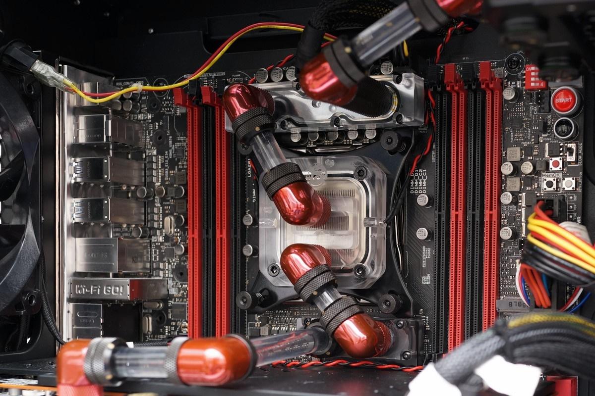 [XF] 強者聚會 ASUS ROG Rampage V Extreme 搭配 Bitspower 水冷套件裝機評測