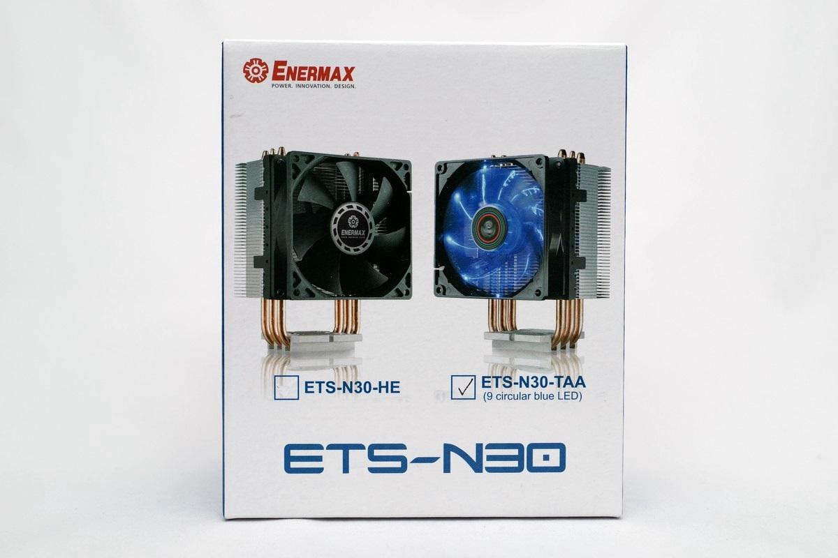 [XF] 外型小巧 有效溫控 ENERMAX ETS-N30 散熱器評測