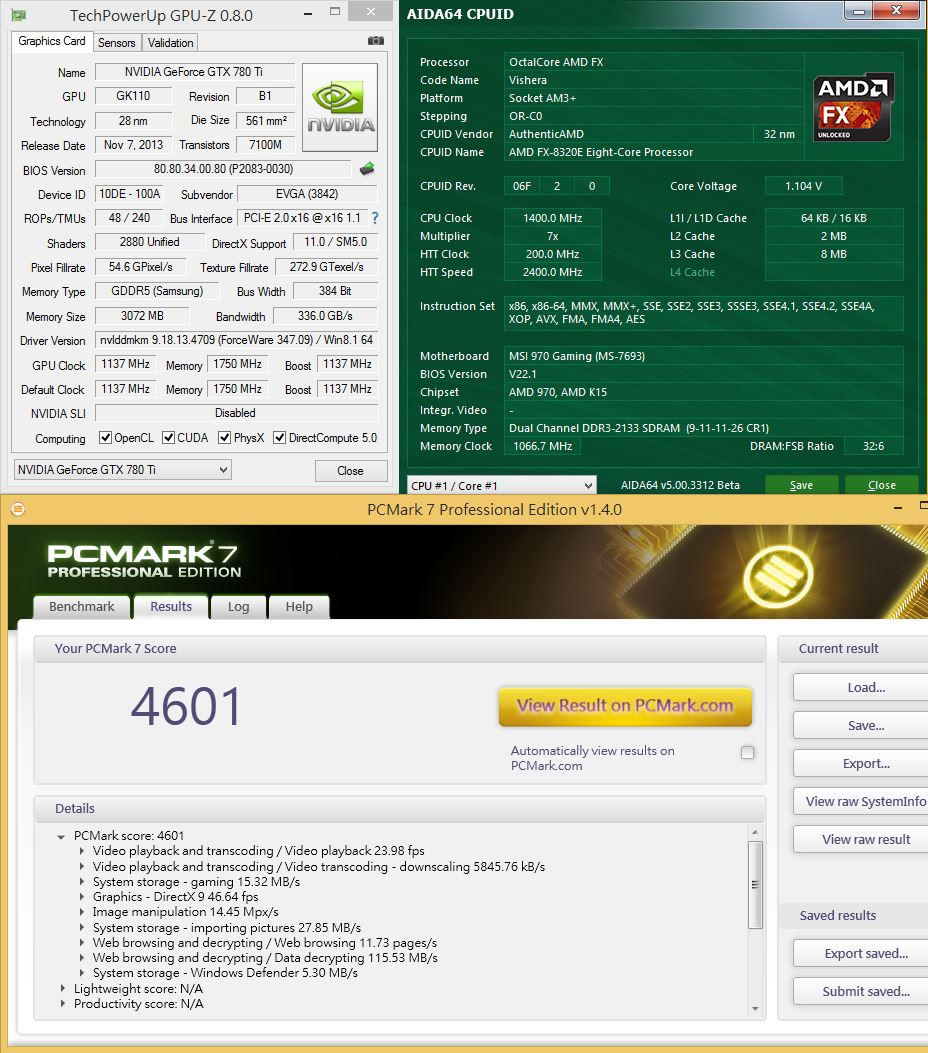 [XF] 有效功耗管理 發展高效益運算 AMD FX-8320E 評測