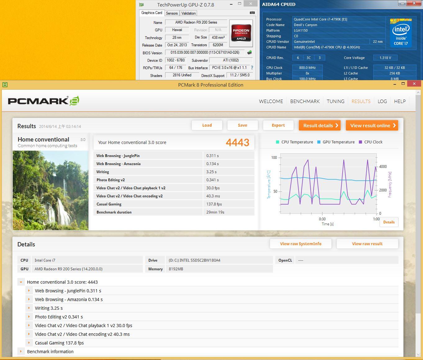 [XF] 點燃心中小惡魔 能效再創新巔峰Intel Corei7-4790K評測