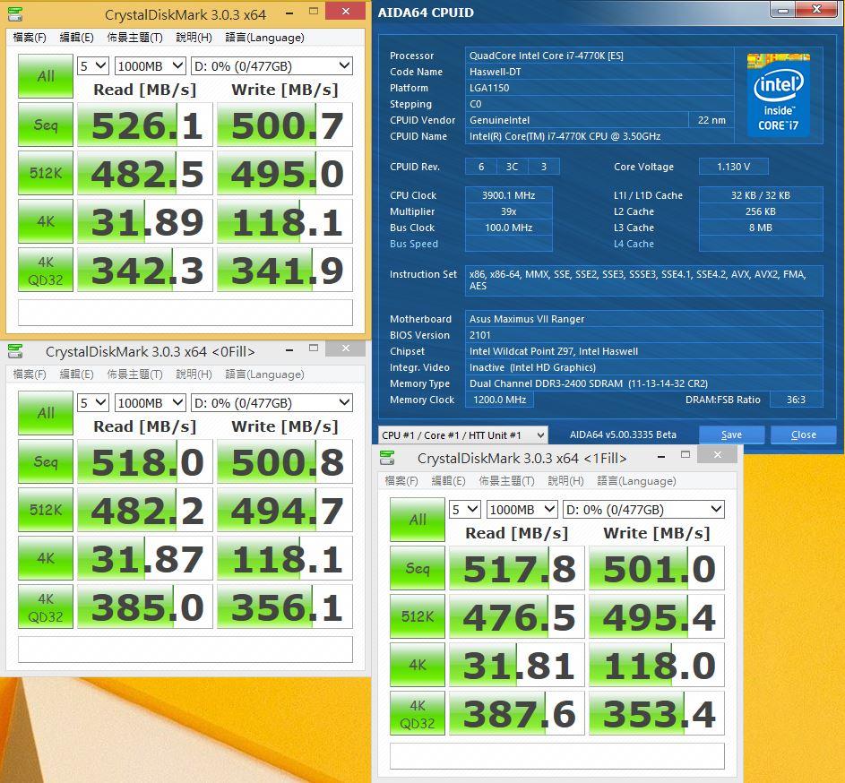 [XF] 大容量優質SSD 極佳的效能表現Crucial M550 512GB 評測