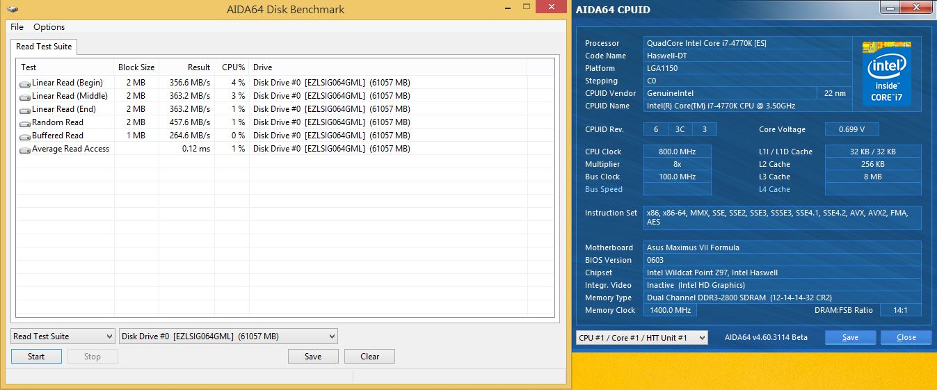 [XF] 便宜堪用小容量 EZLINK SIGMA 64GB評測