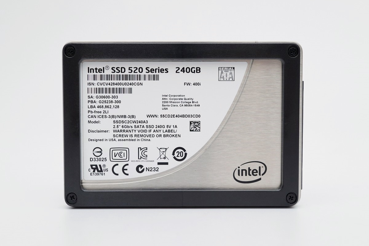 [XF] Intel也搞換料這招 小心沒撿到便宜520成冤大頭Intel SSD 520 240GB 評測