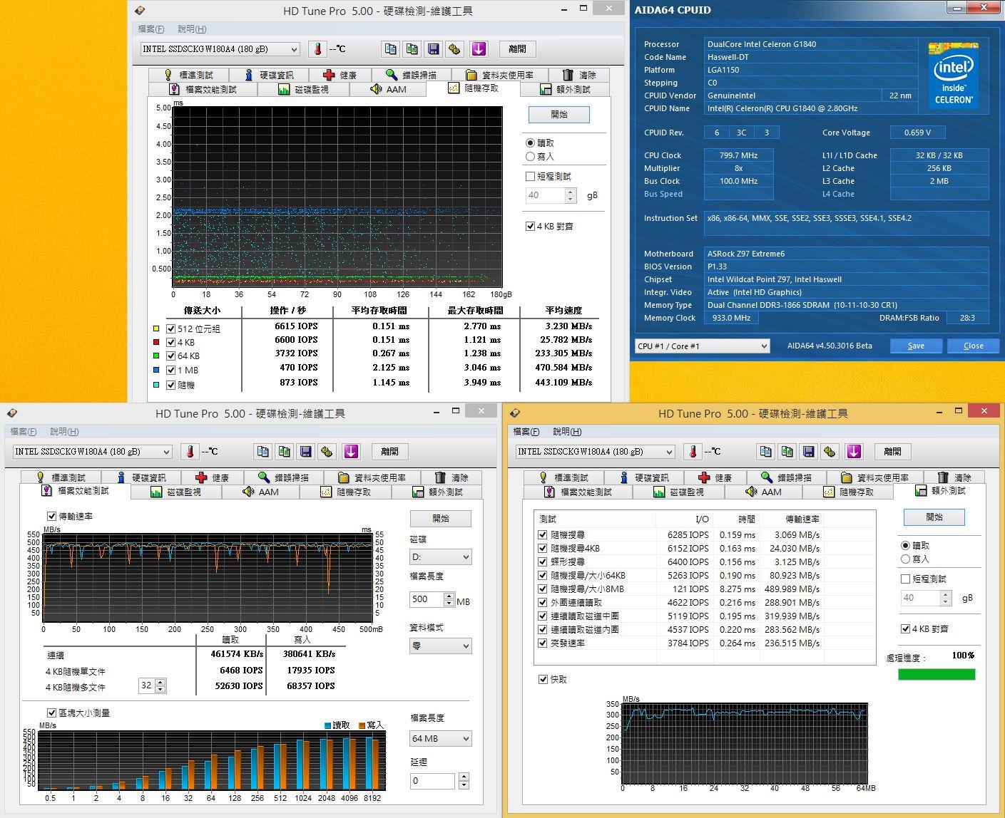 [XF] 布局機先 M.2傳輸介面效能新體驗 Intel SSD 530 M.2 180GB評測