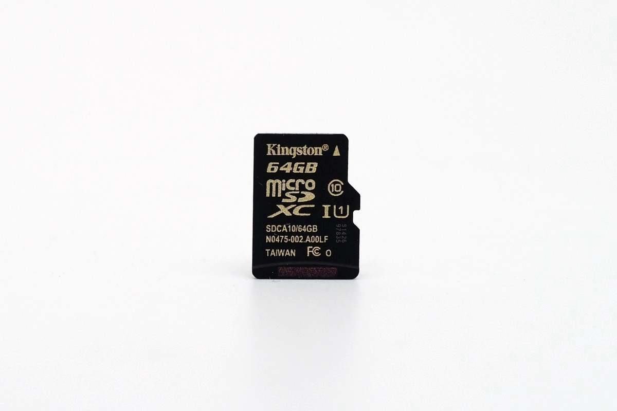 [XF] 手機空間不夠嗎? 認明Kingston金色字樣有速解 Kingston microSDXC UHS-IU1 64GB記憶卡評測