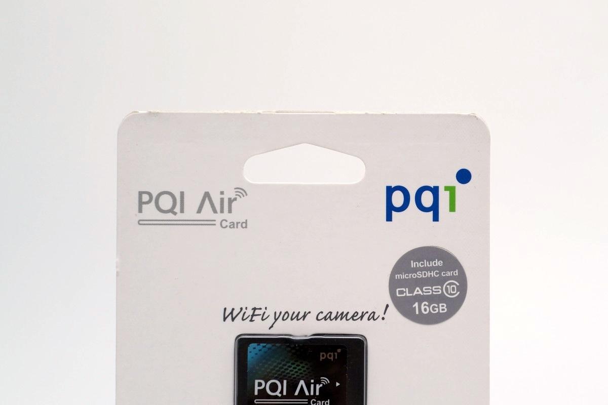 [XF] 智取無線 PQI Air Card 無線網路記憶卡 microSDHC 16GB 簡測