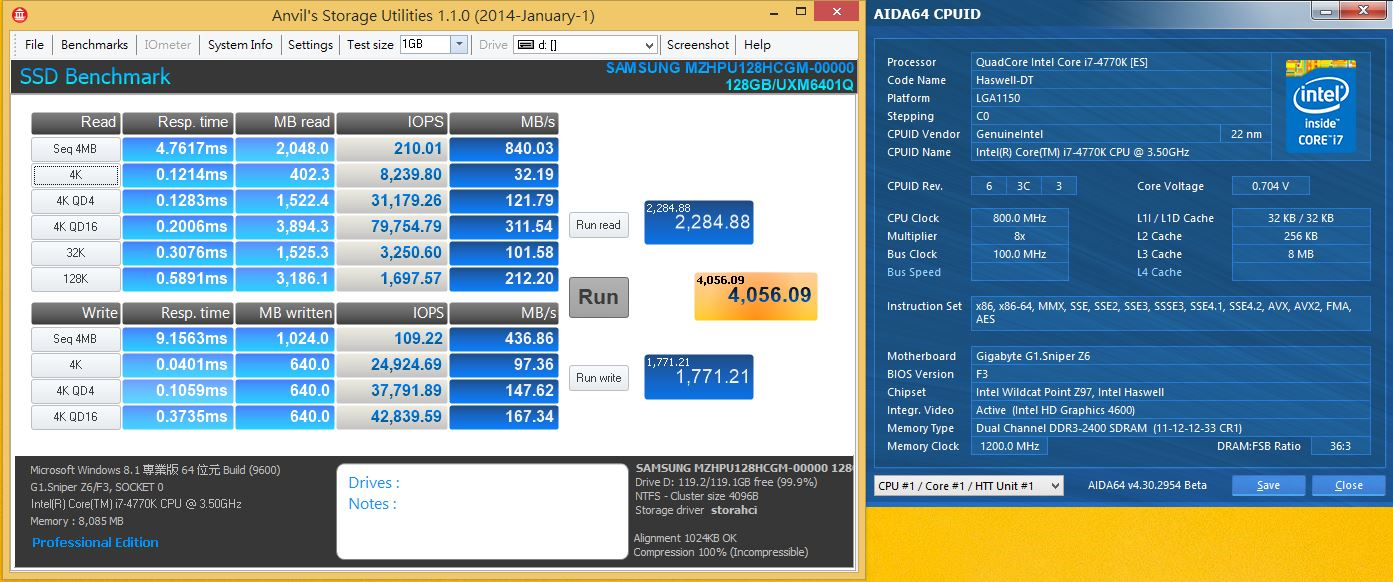 [XF] 傳輸極限標竿效能不同凡響 SAMSUNG XP941 128GB評測
