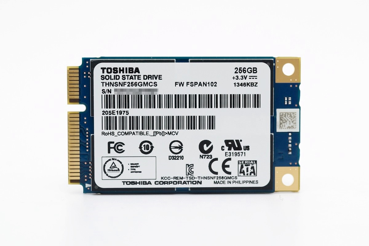 [XF] 效能不俗 進階容量 Toshiba mSATA SSD 256G 評測