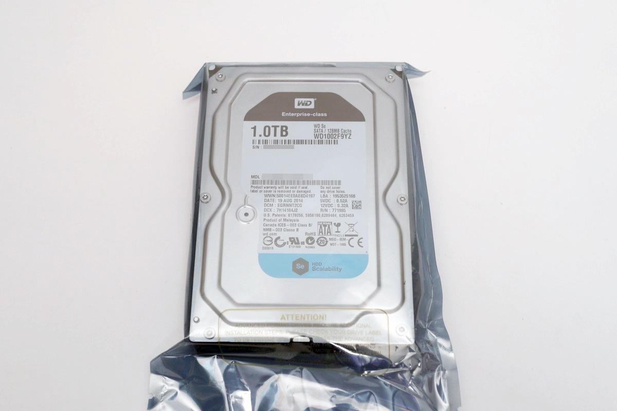 [XF] 配置128MB快取 高效裝機另一選擇 WD Se 1TB硬碟評測