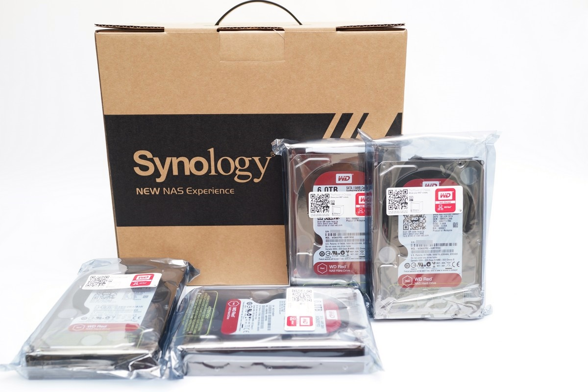 [XF] 6TB自組家用大水庫 數位匯流雲端管理有一套 WD Red 6TB硬碟及Synology DS415play NAS應用實測