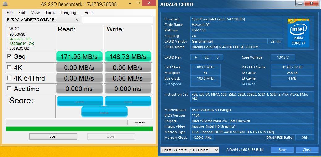 [XF] 幫硬碟加速吧!! 退役小SSD的應用WD Green 6TB及ISRT技術應用實測