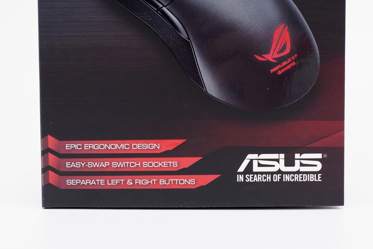 [XF] 電競創世命器 匹配玩家戰魂ASUS ROG Gaming Mouse Gladius 滑鼠評測