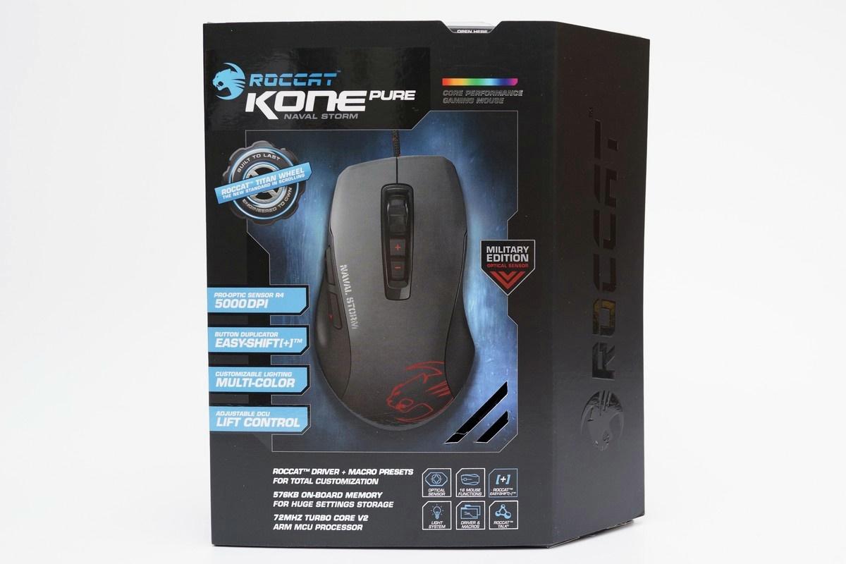 [XF] 電競軍武 滿點組合 ROCCAT Kone Pure Military滑鼠及SENSE鼠墊簡測