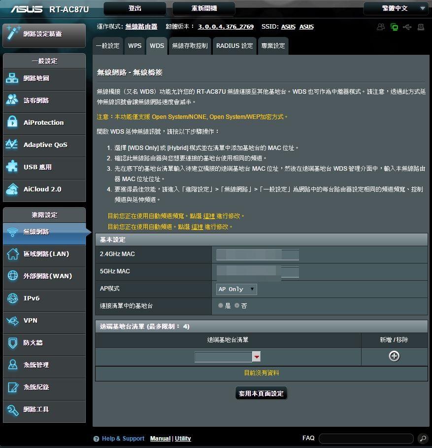 [XF] 雙頻4天線 體現頂級傳輸的品質 ASUS RT-AC87U 雙頻無線分享器評測