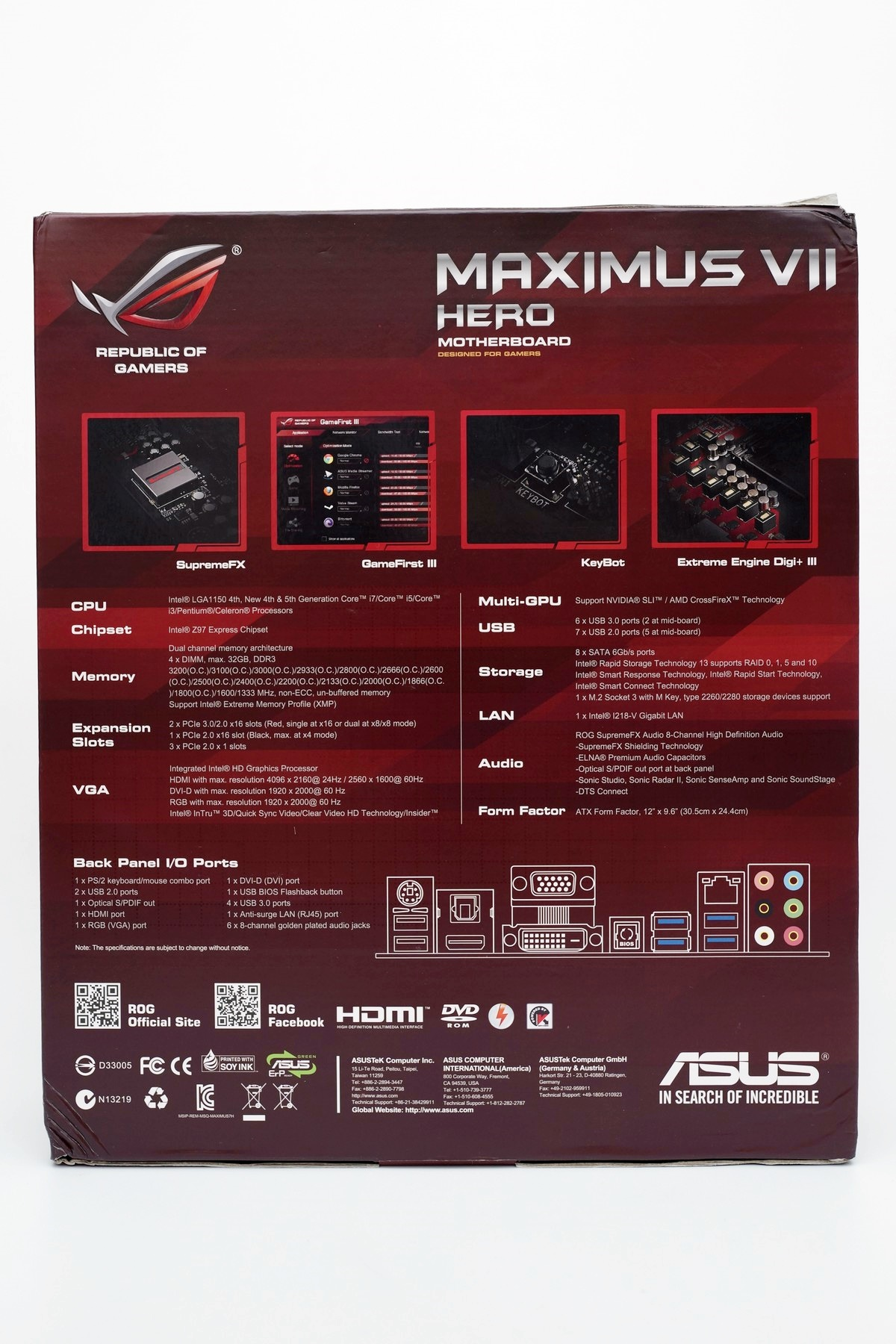 [XF] 英雄出任務 再解Z97電競平台新章 ASUS ROG Maximus VII Hero 評測