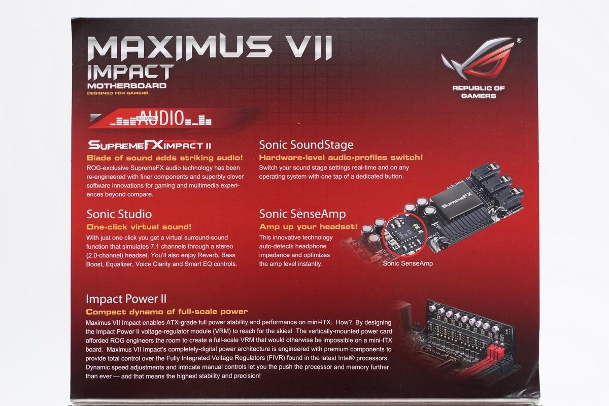 [XF] 創兼容並蓄之勢 造迷你高效之機 ASUS ROG Maximus VII Impact 評測