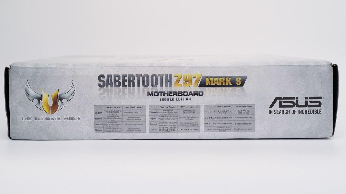 [XF] 雪白裝甲虎魄限定版 展現軍武獨特風 ASUS SABERTOOTH Z97 MARK S 評測