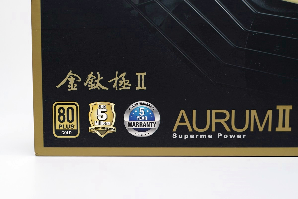 [XF] 進化的用料及單路設計 金鈦極二代能效不凡FSP AURUM II 550W評測
