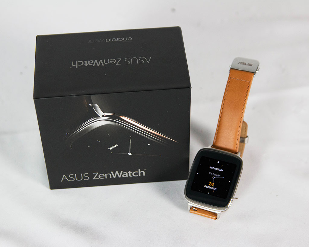 ASUS ZenWatch 開箱測試:一支值得嘗鮮的 Android 智慧錶