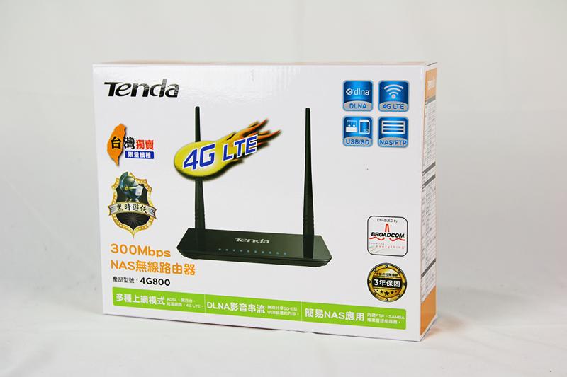 外宿族分享行動網路的好幫手,Tenda 4G800 開箱評測
