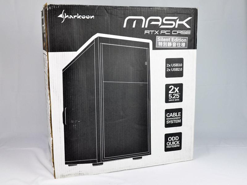 [XF] Sharkoon Mask隱密者機殼 靜音特仕版開箱介紹